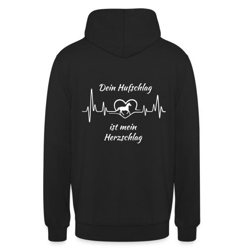 Unisex Hoodie - Hufschlag Herzschlag - Unisex Hoodie