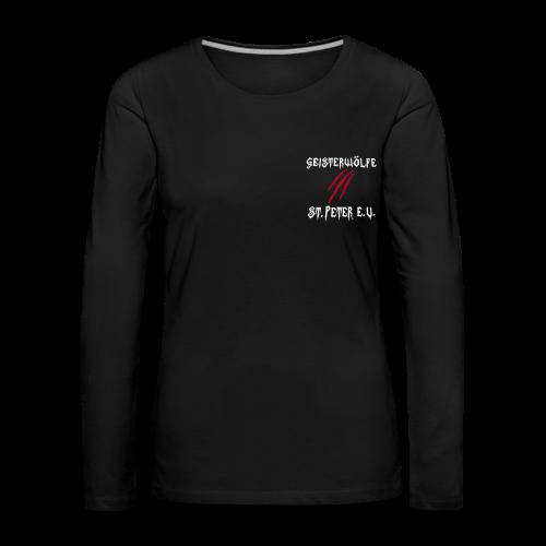 Langarmshirt Damen - Frauen Premium Langarmshirt