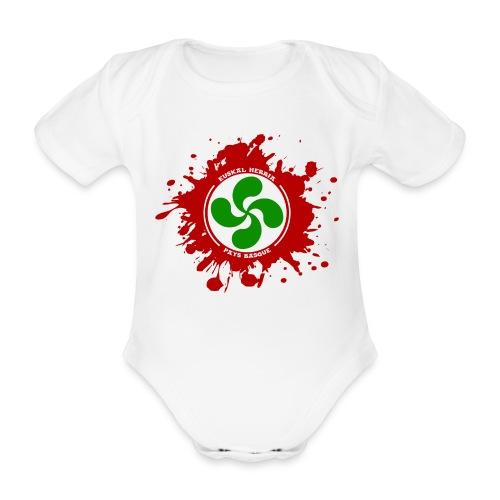 Basque splash - Body bébé bio manches courtes