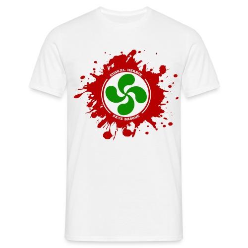 Basque splash - T-shirt Homme