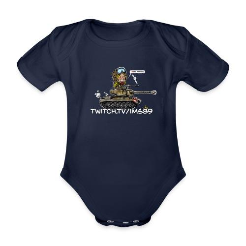 Imstank baby - Organic Short-sleeved Baby Bodysuit