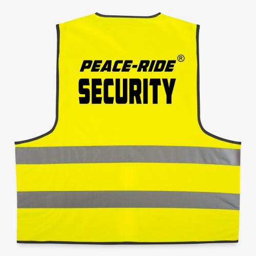 NEU!! PEACE-RIDE Security - Warnweste