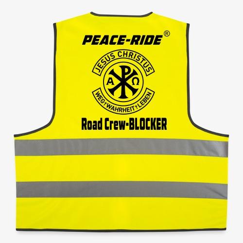 NEU!! PEACE-RIDE Road Crew - Warnweste