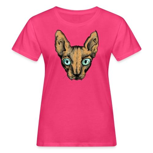 Lady Sphynx - Frauen Bio-T-Shirt