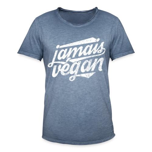 Jamais végan - T-shirt vintage Homme