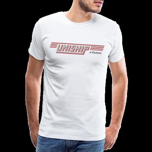 T-shirt Premium, Uniship (dubbelsidig) - Premium-T-shirt herr