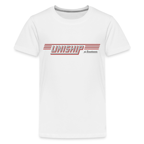 T-shirt Premium tonåring, Uniship (dubbelsidig) - Premium-T-shirt tonåring