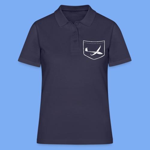 Segelflieger T-Shirt mit angedeuteter Brusttasche (Druck) - Frauen Polo Shirt