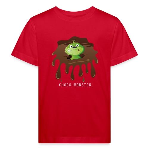 Choco-Monster - Kinder Bio-T-Shirt  - Kinder Bio-T-Shirt