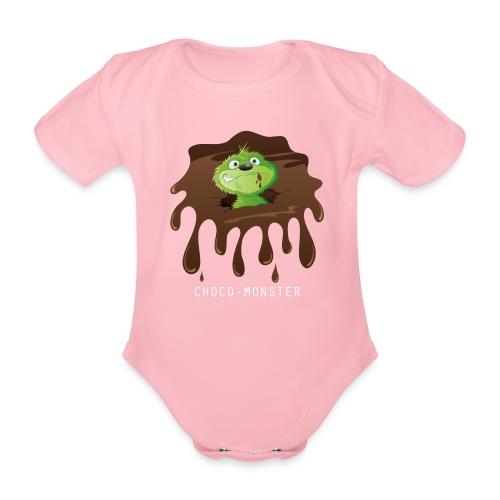 Choco-Monster - Baby Bio-Kurzarm-Body - Baby Bio-Kurzarm-Body