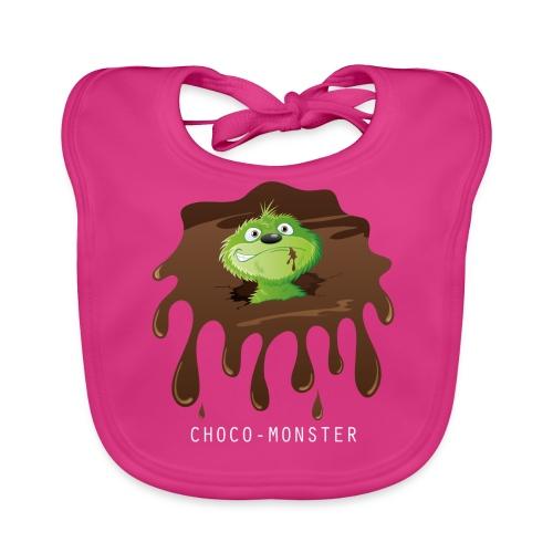 Choco-Monster - Baby Bio-Lätzchen - Baby Bio-Lätzchen
