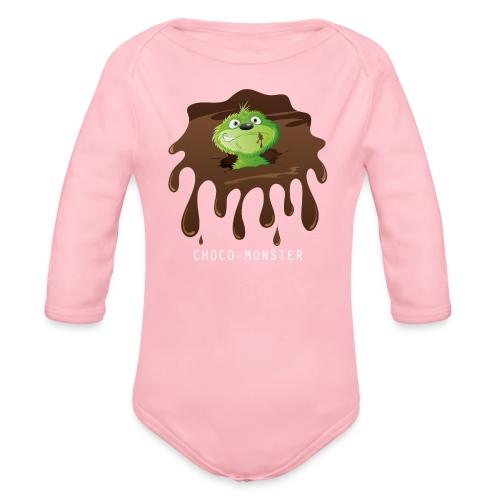 Choco-Monster - Baby Bio-Langarm-Body - Baby Bio-Langarm-Body
