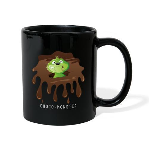 Choco-Monster - Tasse farbig  - Tasse einfarbig