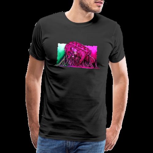 Icecream Lowbrow-Art - Männer Premium T-Shirt