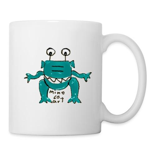 Tasse - Comic-Art Alien Motiv - mino60art - Tasse