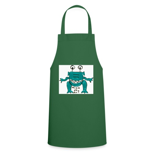 Kochschürze grün - Alien Comic-Art - mino60art  - Kochschürze