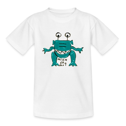 Teenager T-Shirt Alien - Comic-Art - mino60art - Teenager T-Shirt