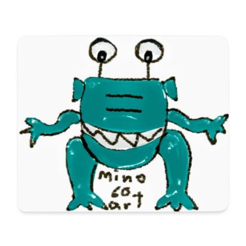 Mousepad (Querformat) - Comic-Art - Alien - mino60art - Mousepad (Querformat)