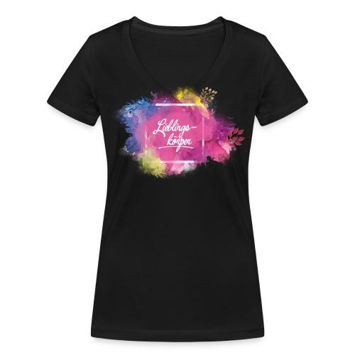 Lieblingskörper Bio Tshirt Woman - Frauen Bio-T-Shirt mit V-Ausschnitt von Stanley & Stella