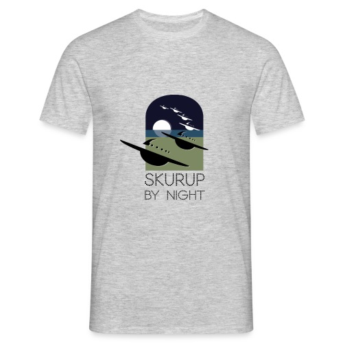 Skurup by night - T-shirt herr