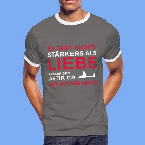 Segelflieger T-Shirt Astir lustiger Spruch Geschenk - Men's Ringer Shirt