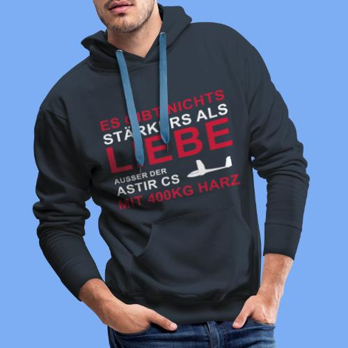 Segelflieger T-Shirt Astir lustiger Spruch Geschenk - Men's Premium Hoodie