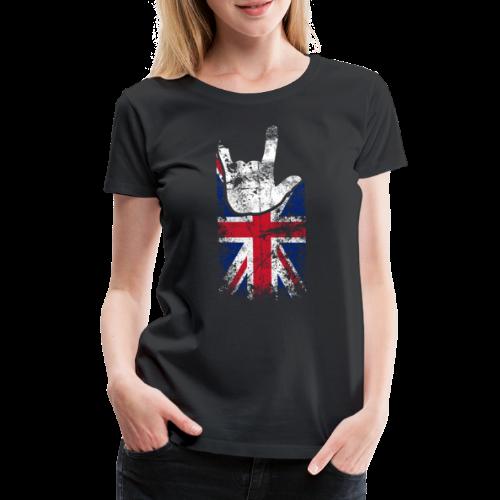 ILY Großbritannien Handsign - Frauen Premium T-Shirt