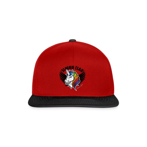 Sleek SloerieClan Logo on Red cap - Snapback Cap