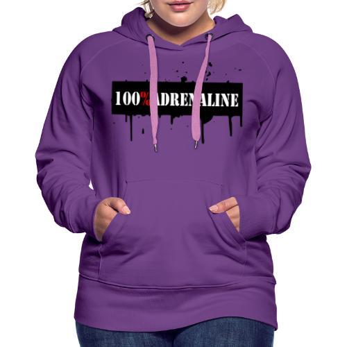 100% Adrenaline Hoodie Women - Frauen Premium Hoodie