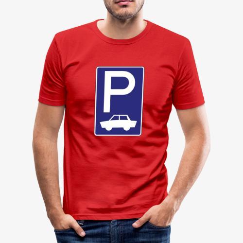 Sehr selltenes Motiv für dein Outfit - Männer Slim Fit T-Shirt