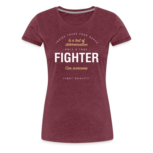Womens Four Ropes T-Shirt - Women's Premium T-Shirt