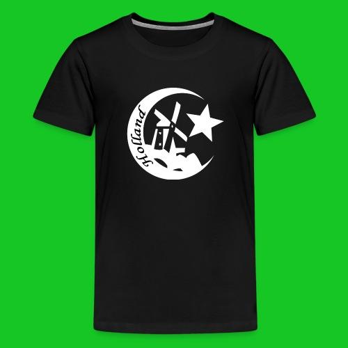 Holland Moslim teenager t-shirt - Teenager Premium T-shirt