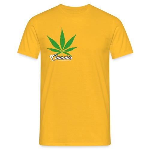 Cannabis - T-skjorte for menn