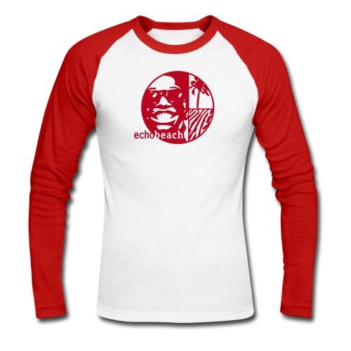 Echo Beach Logo - Men's Long Sleeve Baseball T-Shirt