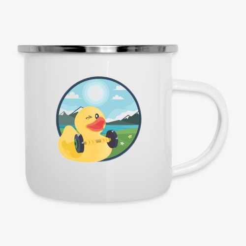 Duck Mug - Emaille-Tasse
