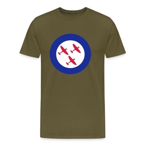 Spitfires in Roundel - Men's Premium T-Shirt