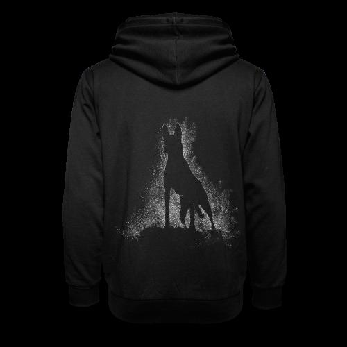 Dog Silhouette - Schalkragen Hoodie