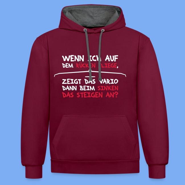 Segelflieger T-Shirt lustiger Spruch Geschenk Motor
