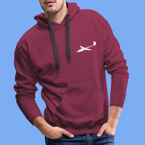 Segelflieger T-Shirt Segelflugzeug PIK20 - Men's Premium Hoodie
