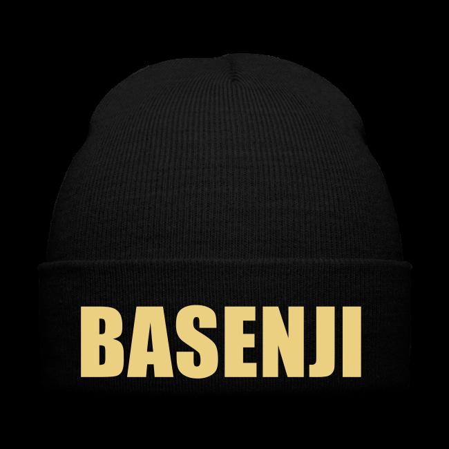 Wintermütze Basenji