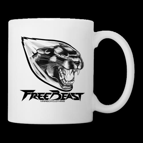 FREEBEAST - PANTHER BLACK - Mug blanc - Mug blanc