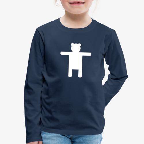 Kids' Premium Longsleeve Shirt Ippis - Lasten premium pitkähihainen t-paita