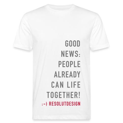 GOOD NEWS! (man) - Männer Bio-T-Shirt