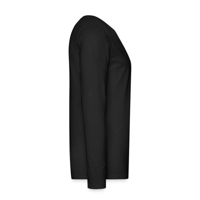 Stranger long sleeve black with white print
