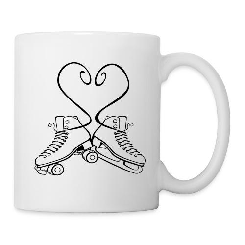 Tasse Rollkunstlauf & Eiskunstlauf Senkelherz - Tasse