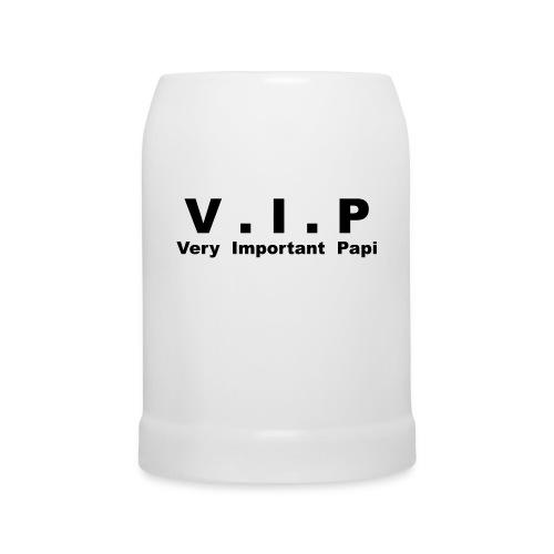 Chope en céramique V.I.P - Very Important Papi - Chope en céramique