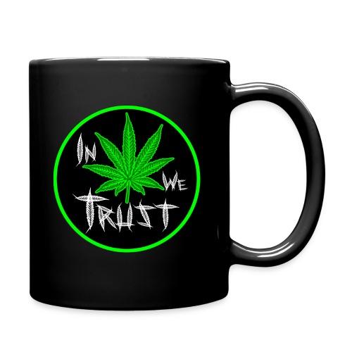 In Weed We Trust Mug - Taza de un color