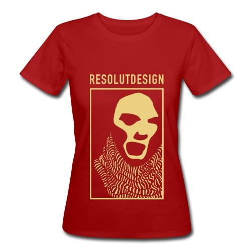 SCHREI (woman) - Frauen Bio-T-Shirt