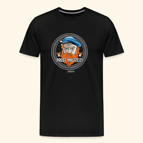 Whisky T Shirt Prost Maltzeit - Männer Premium T-Shirt