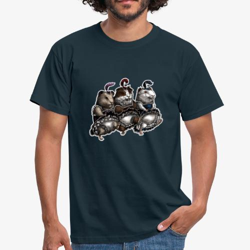Guinea Pig Can-can - Men's T-Shirt
